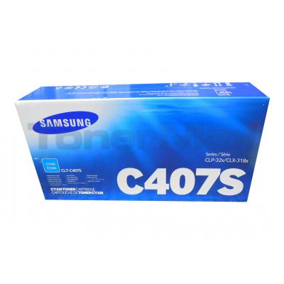 SAMSUNG CLP-320 TONER CARTRIDGE CYAN